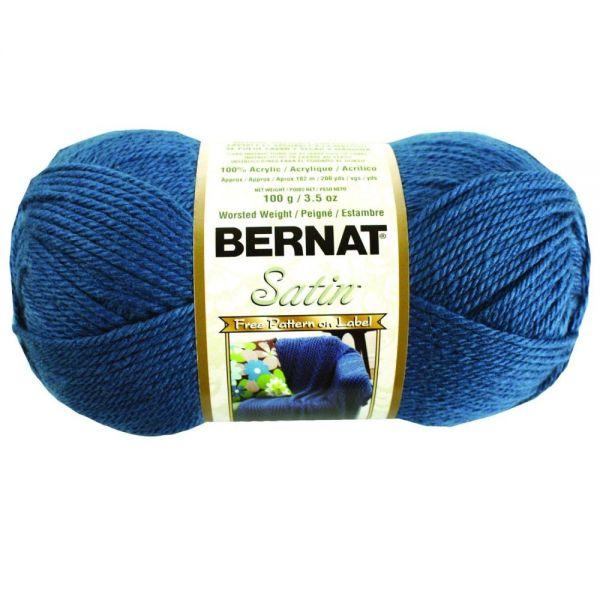 Bernat Satin Yarn - Teal