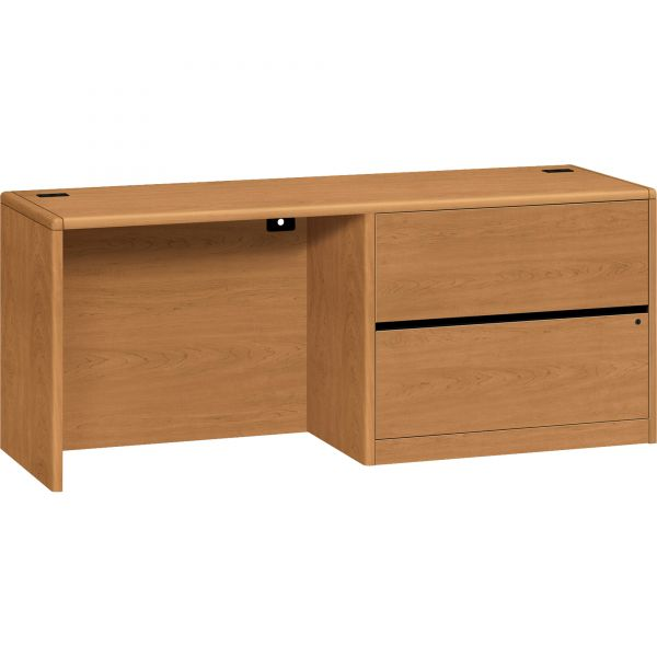 "HON 10700 Series Right Pedestal Credenza | 2 Lateral Drawers | 72""W"