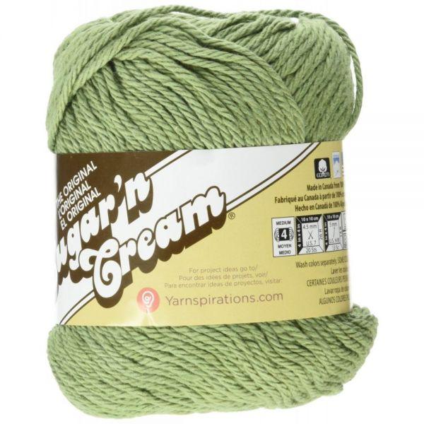 Lily Sugar'n Cream Yarn - Sage Green