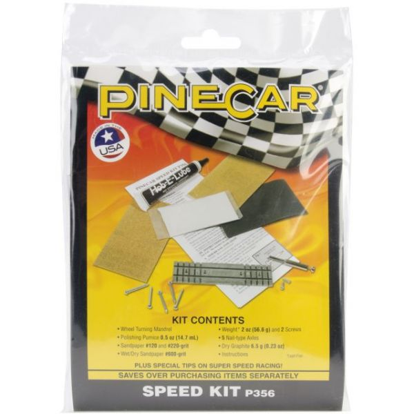 Pine Car Derby Speed Kit