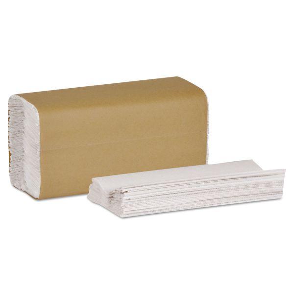 Tork Universal C-Fold Hand Towel, 10 1/8 x 12 3/4, 1-Ply, White, 150 Sheets/Pack, 16 Packs/Carton
