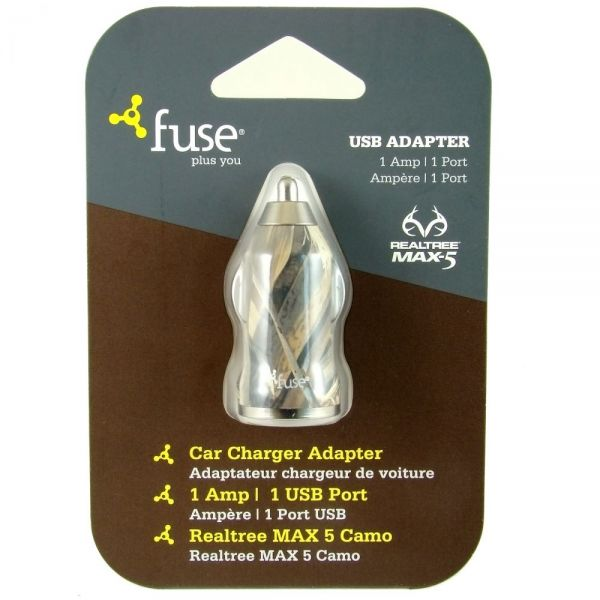 Fuse Real Tree Camo Car Charger