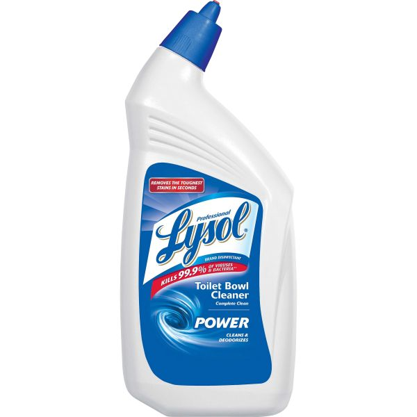 Professional LYSOL Brand Disinfectant Toilet Bowl Cleaner, 32 oz Bottle