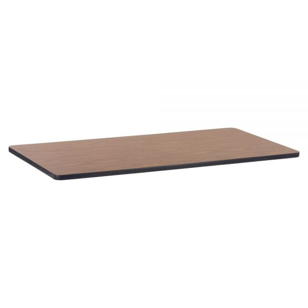 Lorell Med Oak Laminate Rectnglr Activity Tabletop