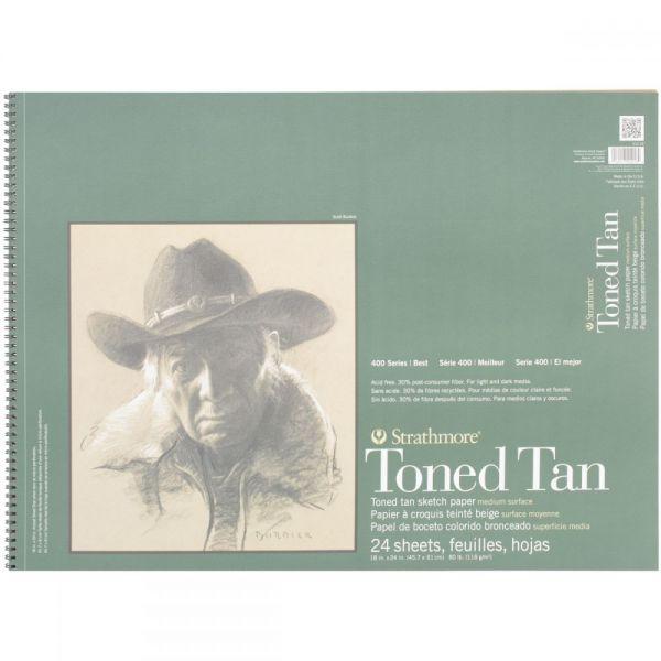 Strathmore Toned Tan Acid Free Sketch Pad
