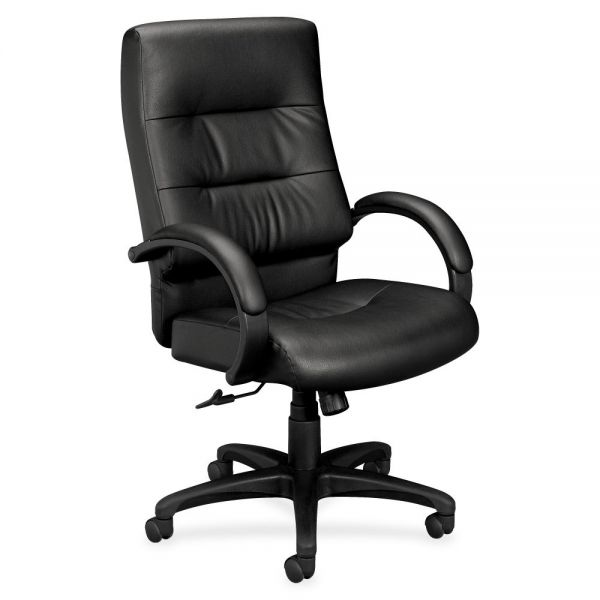 HON basyx by HON HVL691 Executive High-Back Chair | Center-Tilt