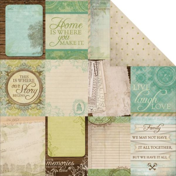 Heirloom Double-Sided Cardstock