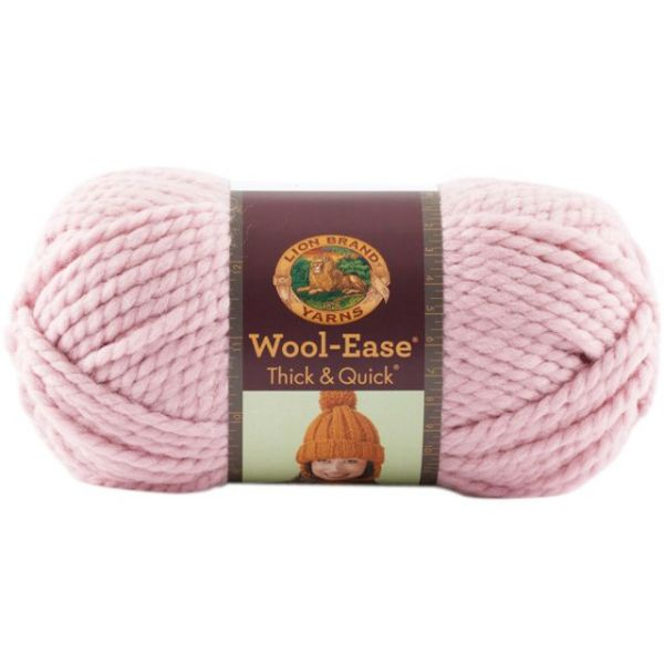 Lion Brand Wool-Ease Thick & Quick Yarn - Blossom