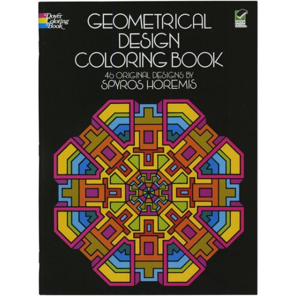 Dover Publications: Geometrical Design Coloring Book