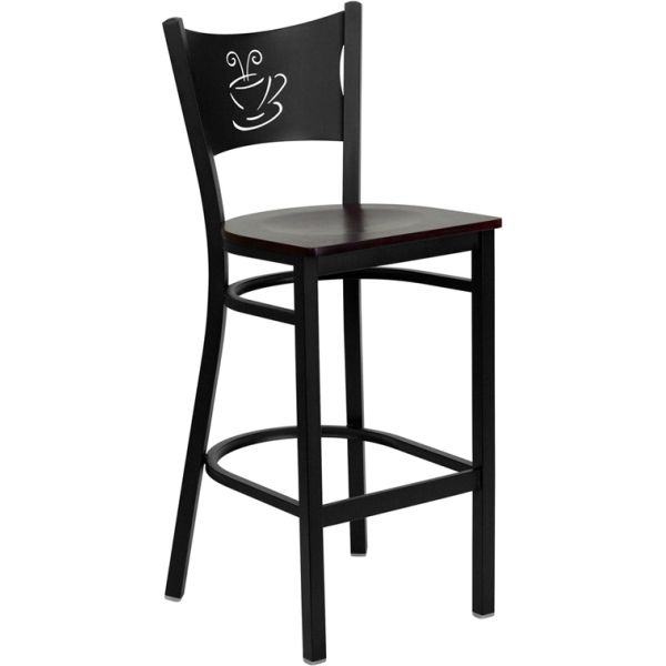 Flash Furniture HERCULES Series Coffee Back Barstool