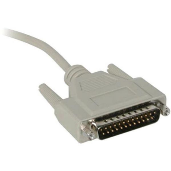 C2G 1ft DB9 Female to DB25 Male Serial Adapter Cable