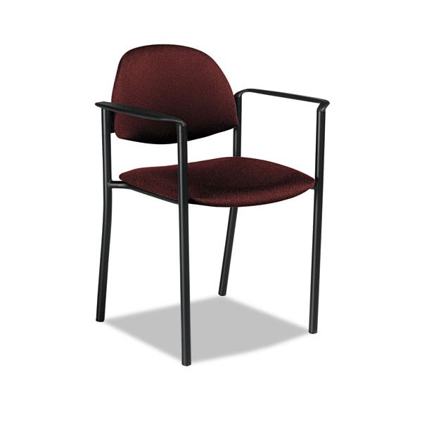 Global Comet Series Stacking Chairs with Arms