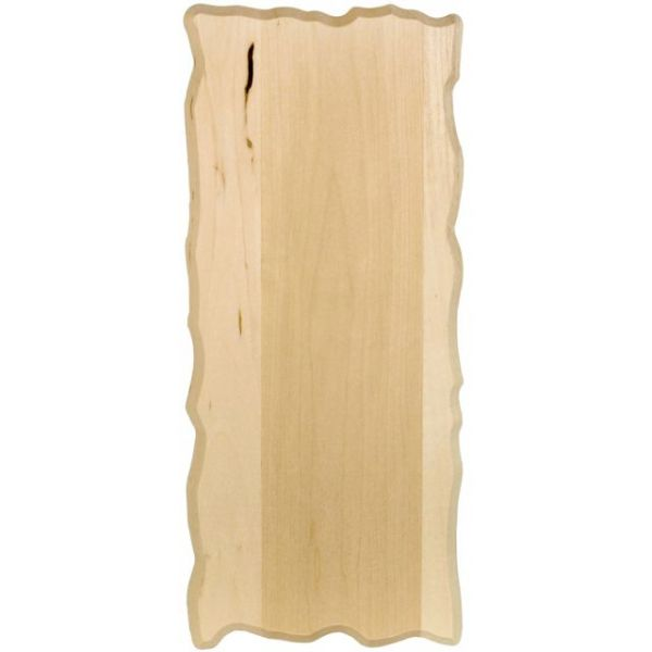 Basswood Rustic Rectangle Plaque