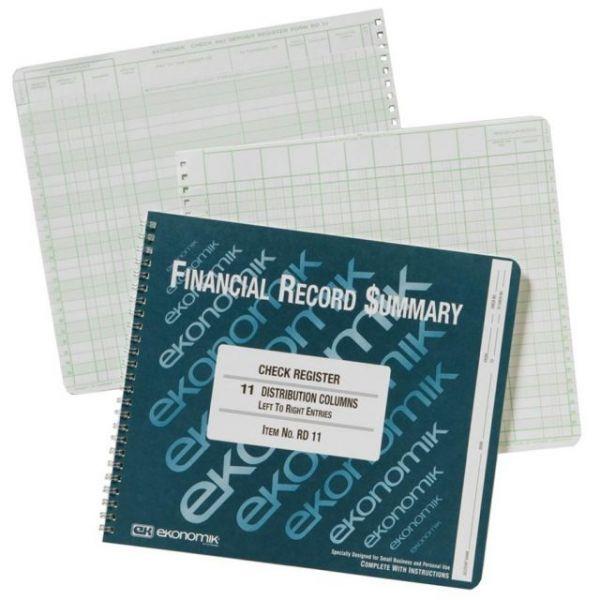 Ekonomik Check Register