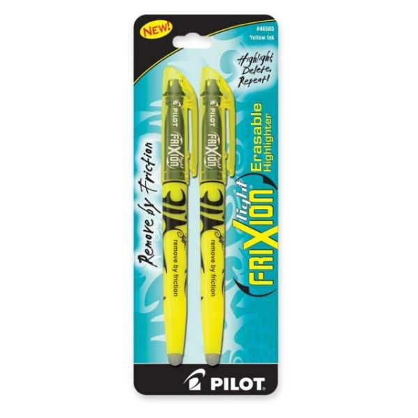 Pilot Frixion Erasable Highlighters