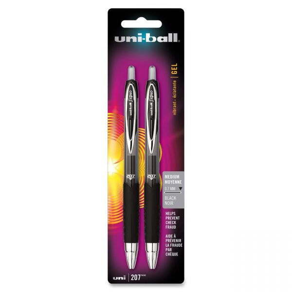 Uni-Ball Signo 207 Retractable Gel Pens