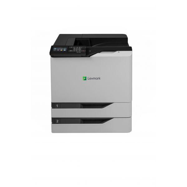 Lexmark CS820dte Laser Printer - Color - 1200 x 1200 dpi Print - Plain Paper Print - Desktop