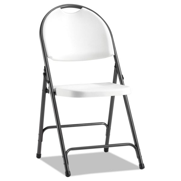 Alera Molded Resin Folding Chairs