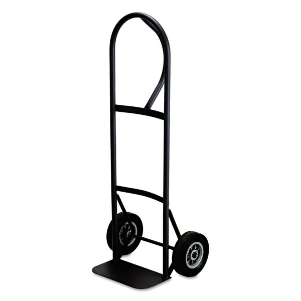 Safco Tuff Truck Economy Hand Cart, 400lb Capacity, 16 x 14-3/4 x 51-1/2, Black Enamel