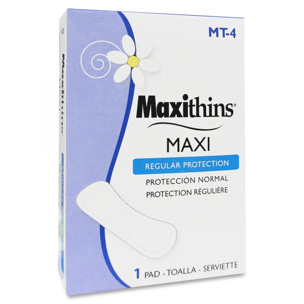 Maxithins Maxi Regular Protection Pads