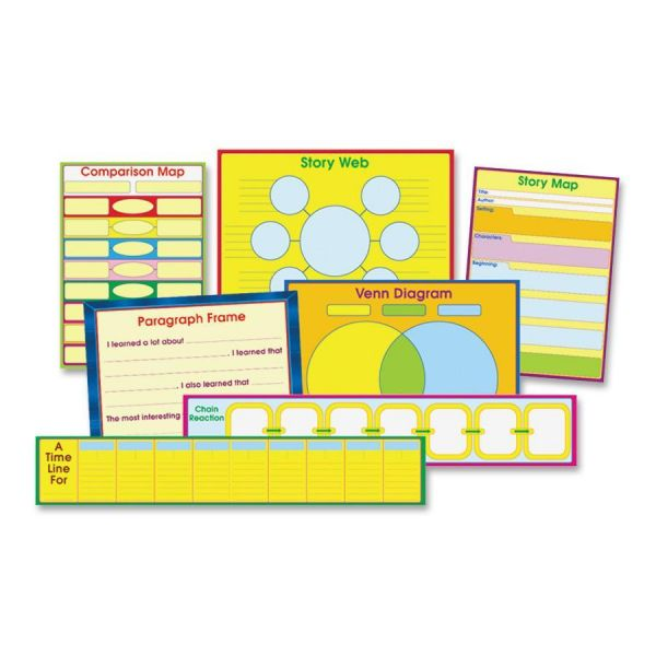 Carson-Dellosa Graphic Organizer Charts