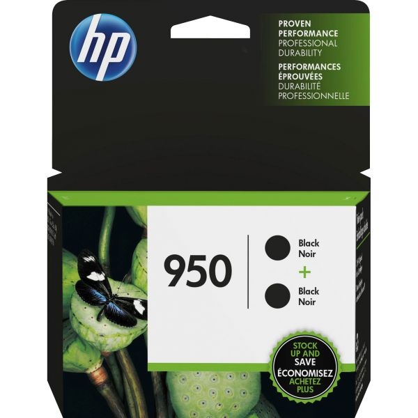 HP 950 Black Ink Cartridge Twin Pack (L0S28AN)
