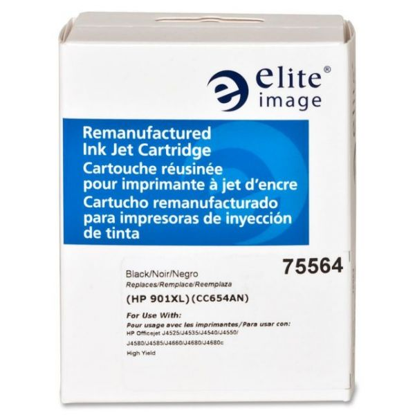 Elite Image Remanufactured HP CC654AN Ink Cartridge