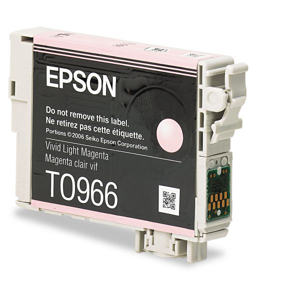 Epson T0966 Light Magenta Ink Cartridge (T096620)