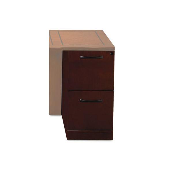 Tiffany Industries Sorrento File/File Desk Pedestal, 15 1/4w x 30d x 28 1/4h, Cherry