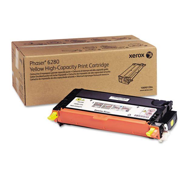 Xerox 106R01394 Yellow High Yield Toner Cartridge