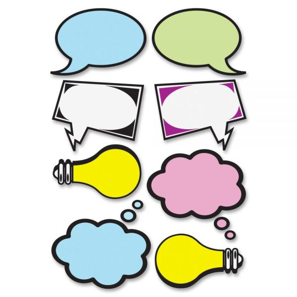 Ashley Speech Bubbles Dry Erase Magnets