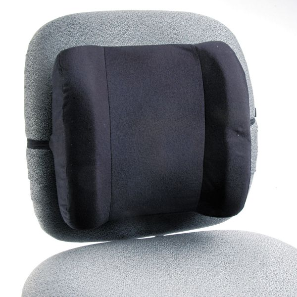 Safco Remedease High Profile Backrest,123/4w x 4d x 13h, Black