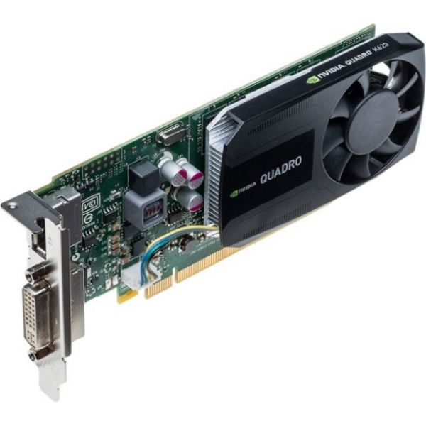 PNY Quadro K620 Graphic Card - 2 GB GDDR3 SDRAM - PCI Express 2.0 x16 - Low-profile - Single Slot Space Required