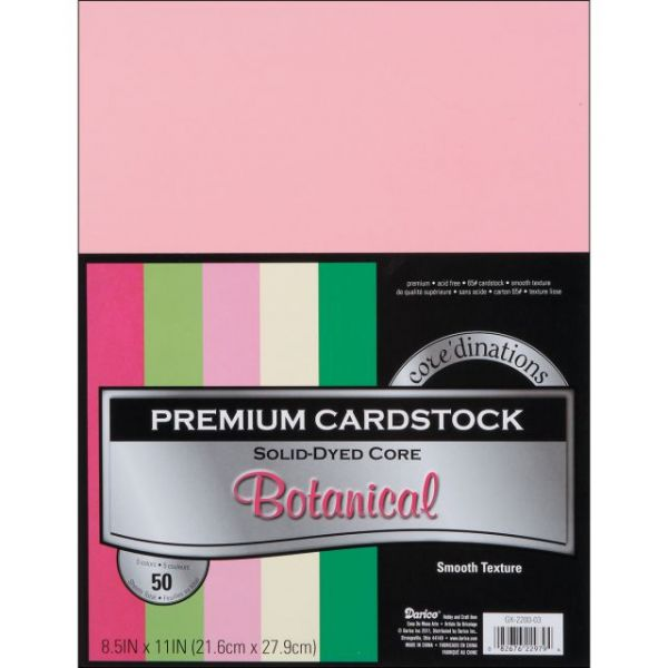 Core'dinations Premium Smooth Botanical Cardstock