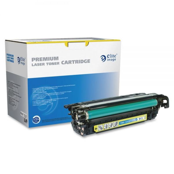 Elite Image Remanufactured HP 646A Yellow Toner Cartridge
