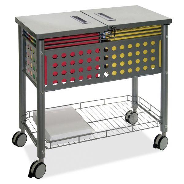 Vertiflex SmartWorx Sidekick Mobile File Cart