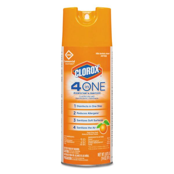 Clorox 4-in-One Disinfectant & Sanitizer