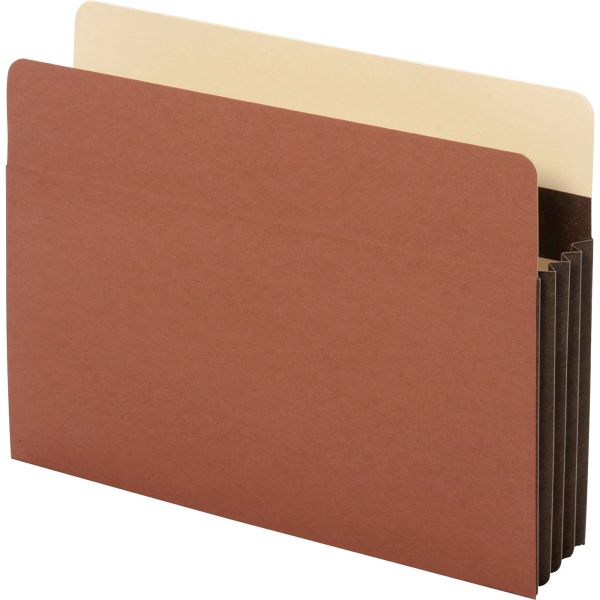 Pendaflex Heavy-Duty File Pockets, 1 Pocket, Letter, Redrope