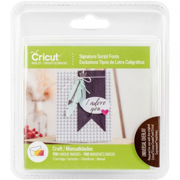 Cricut Font Cartridge