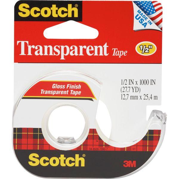"Scotch 1/2"" Transparent Tape"
