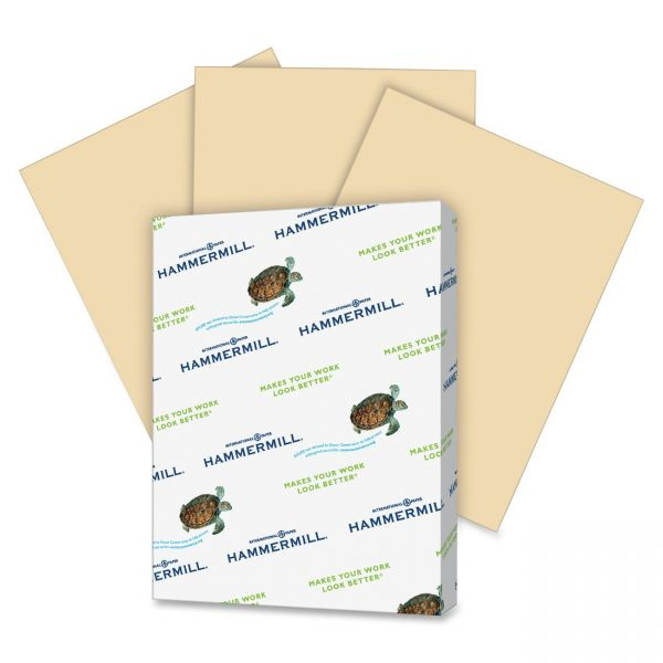 Hammermill Super-Premium Colored Paper - Tan