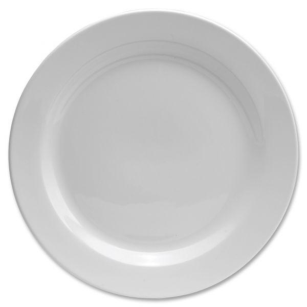 "Chef's Table 8"" Fine Porcelain Round Salad Plates"