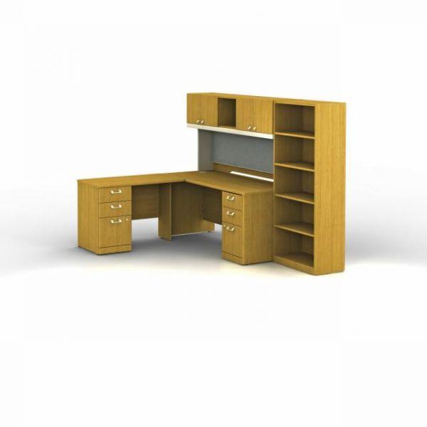 bbf Quantum Professional Configuration - Modern Cherry finish by Bush Furniture
