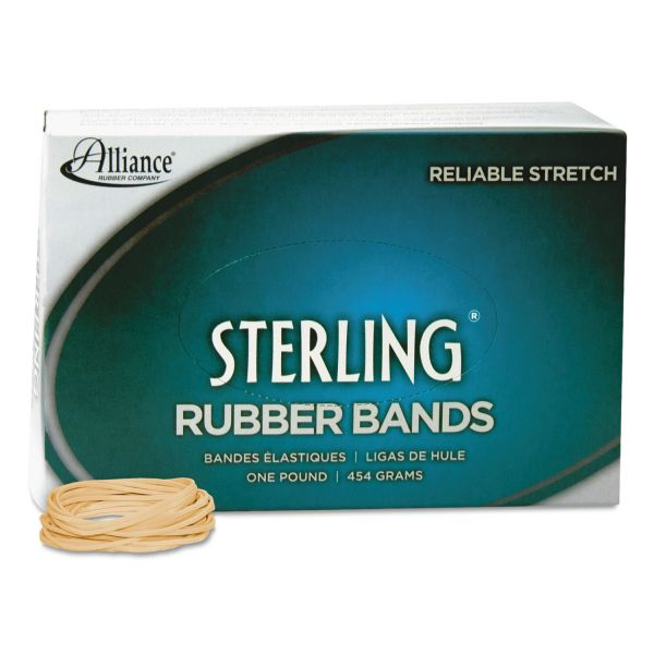 Alliance Sterling Rubber Bands Rubber Band, 16, 2 1/2 x 1/16, 2300 Bands/1lb Box
