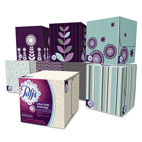 Puffs Ultra Soft & Strong 2-Ply Facial Tissues