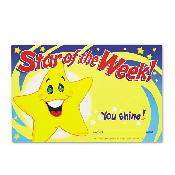 Trend Star Of The Week! Recognition Awards