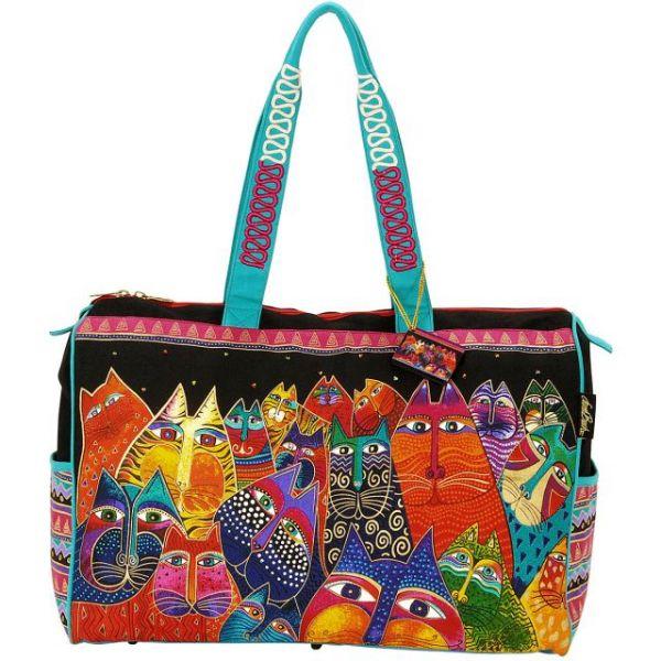 "Travel Bag Zipper Top 21""X8""X16"""