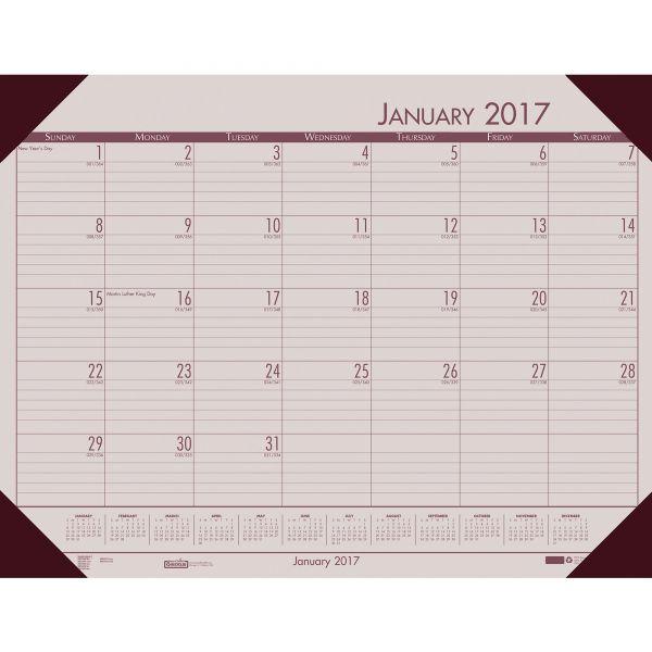 House of Doolittle EcoTones Monthly Desk Pad Calendar