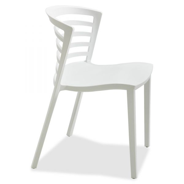 Safco Entourage Resin Stacking Chairs