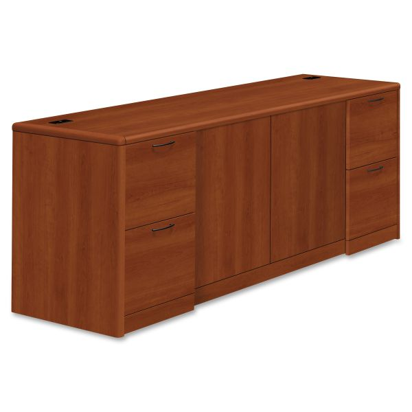 """HON 10700 Series Double Pedestal Credenza with Doors 